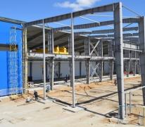 Строительство промышленного комплекса с кран-балками в Апрелевке