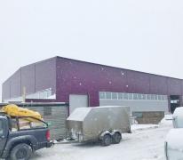 Производственное здание из металлоконструкций в Солнечногорском районе
