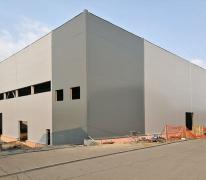 Строительство склада из сэндвич-панелей в г. Александров