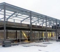 Строительство административно-производственного здания