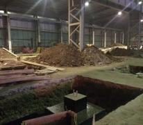 Реконструкция, расширение площади и насдстройка этажей в складском комплексе