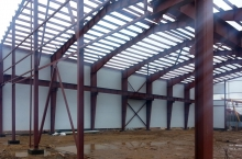Производственно-складской комплекс скран-балкой 6000 кв.м(г. Солнечногорск)