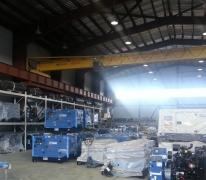 Кран-балка на складе