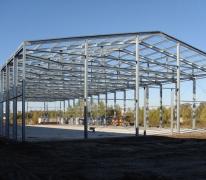 Строительство склада в г. Клин