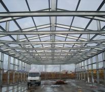 Строительство склада в республике Коми
