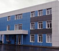 Комплекс административных и торгово-выставочных зданий