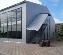 Строительство торгового центра в г. Починок