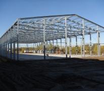 Строительство склада из ЛСТК в Клину