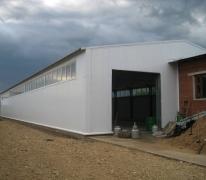 Пристройка складского помещения