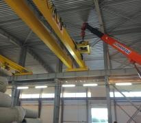 Монтаж кран-балки в производственном цехе г. Апрелевка