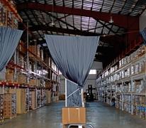 Результат устройства промышленного пола для склада