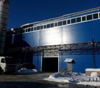 Разработка проекта производственного здания с кран-балкой 25 тонн в г. Апрелевка
