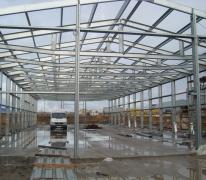 Строительство склада-магазина в Усинске