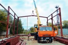 Ангар для ремонта погрузочной техники (г. Подольск)