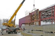 Производственное здание 24×48м сдвумя кран-балками 3,2тн (Солнечногорский р-он)